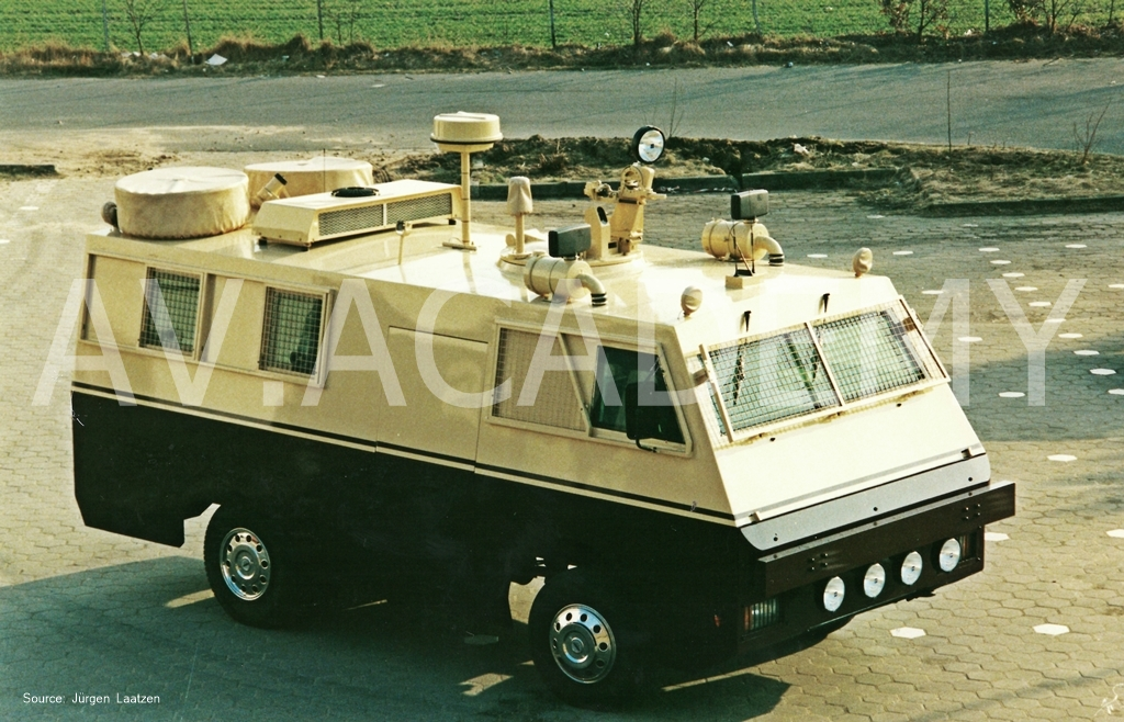 Vintage Armoured Vehicles Armored Car